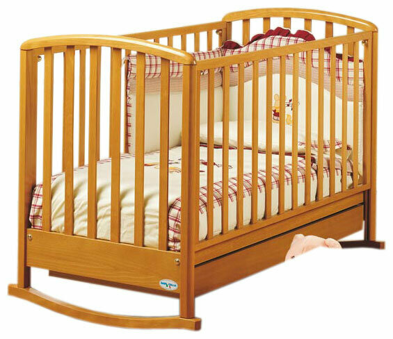 Кроватка Baby Italia Dolly (качалка), на полозьях