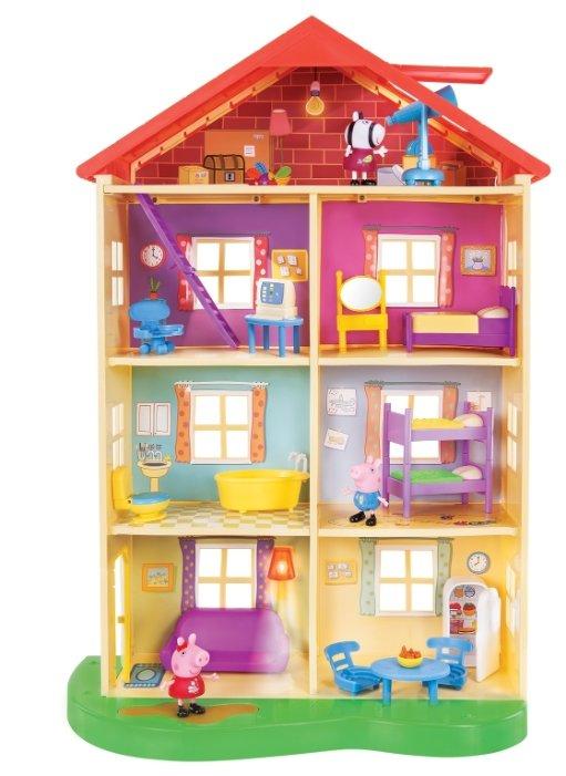 Игровой набор Peppa Pig Большой дом Пеппы, 6 комнат, свет и звук 35361