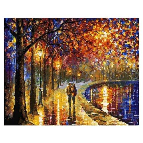 Белоснежка Картина по номерам Пара у озера 40х50 см (022-AB) белоснежка картина по номерам кутерьма 40х50 см 221 ab