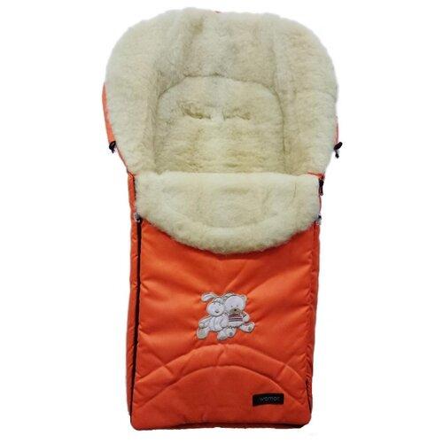 Конверт-мешок Womar Excluzive в коляску 95 см 2 оранжевый фото