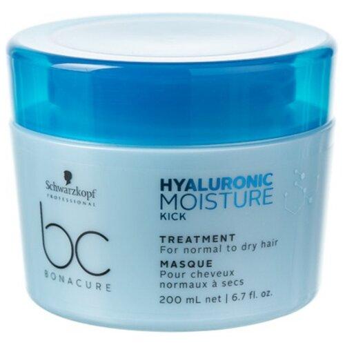 Фото - BC Bonacure Hyaluronic Moisture Kick Treatment Маска для волос увлажняющая, 200 мл bc bonacure keratin smooth perfect маска для гладкости волос 750 мл