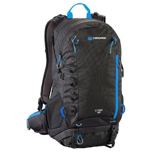 Рюкзак Caribee X-Trek 40 black (black/ice blue)