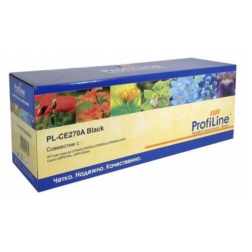 Картридж ProfiLine PL-CE270A-Bk, совместимый картридж profiline pl tn 241bk bk совместимый