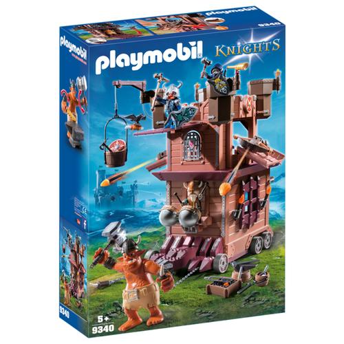Конструктор Playmobil Knights 9340 Передвижная крепость гномов