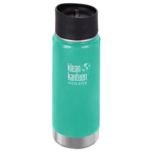 Термос-фляга Klean Kanteen Insulated Wide Cafe Cap (0,473 л) sea crestТермосы и термокружки<br>