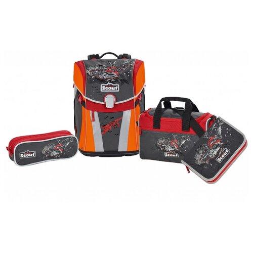 Купить Scout Ранец с наполнением SUNNY EXKLUSIV 4 предмета, bat, Рюкзаки, ранцы