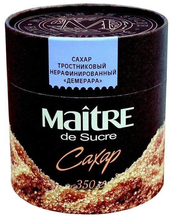 Сахар MAITRE тростниковый нерафинированный Демерара, 350 гр.