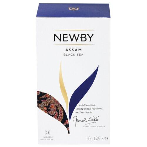 Чай черный Newby Assam в пакетиках, 25 шт.Чай<br>