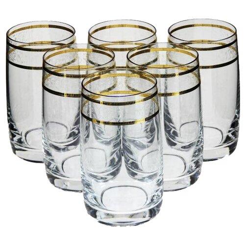 Купить со скидкой Bohemia Crystal Набор стаканов для воды Идеал 250 мл 6 шт 431842