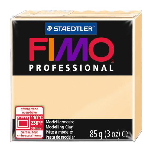 Купить Полимерная глина FIMO Professional запекаемая 85 г шампань (8004-02), Глина