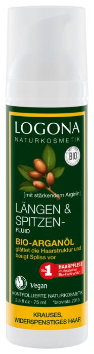 Logona Organic Argan Oil Hair Tip Fluid Флюид