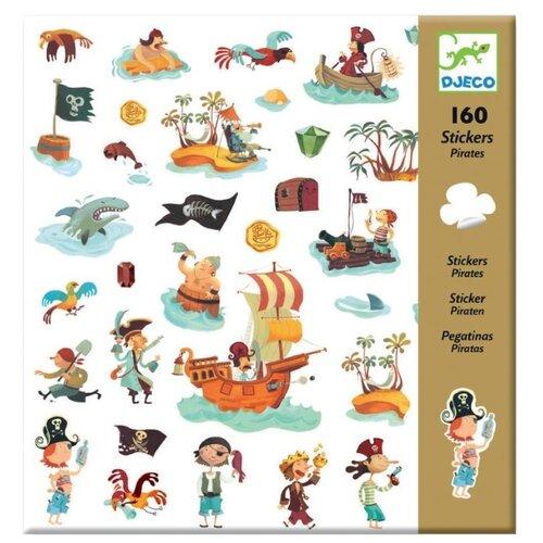 DJECO Наклейки Пираты, 160 шт. (08839)  - купить со скидкой