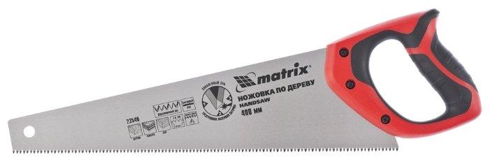 Ножовка по дереву matrix 23540 400 мм