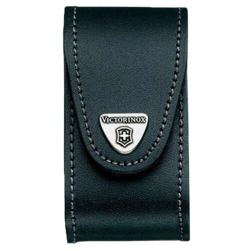 Чехол для ножей 91 мм 5-8 уровней c поворотной клипсой VICTORINOX черный чехол victorinox для ножей 91 мм 5 8 уровней с отд для фонаря и точильного камня кожаный чёрный