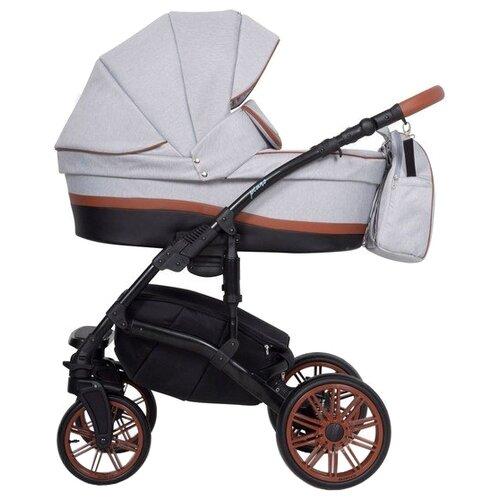 Универсальная коляска Riko Piano (3 в 1) 01 grey fox