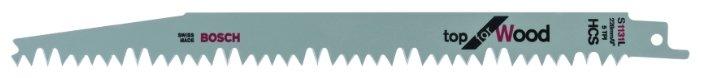 Пильное полотно для сабельной пилы BOSCH S1131L 2 шт.
