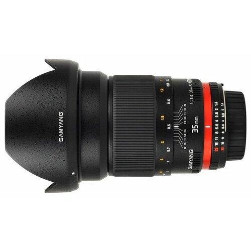 Фото - Объектив Samyang 35mm f/1.4 ED AS UMC AE Nikon F объектив samyang 85mm f 1 8 ed umc cs fujifilm x