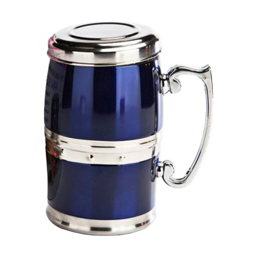 Термокружка BRADEX магнитная Живая Вода TD 0023, 0.35 л синий