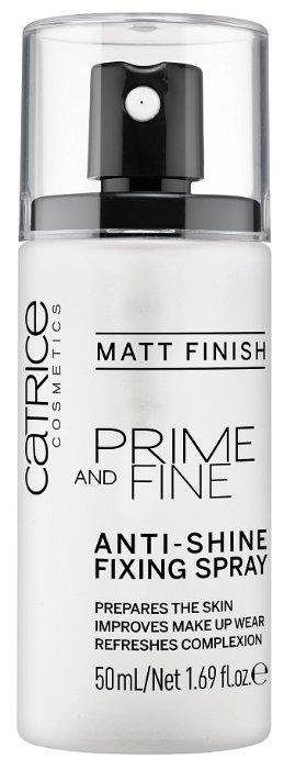 CATRICE спрей для макияжа фиксирующий Prime And Fine Anti-Shine Fixing Spray 50 мл