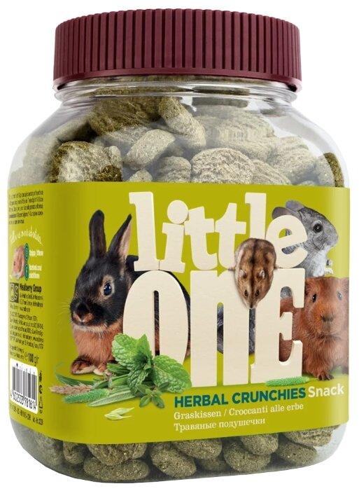 Лакомство для кроликов, грызунов Little One Snack Herbal crunchies