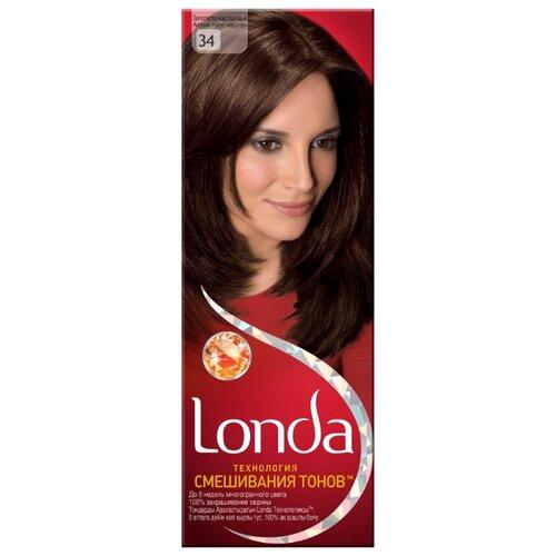 Londa стойкая крем-краска для волос, 34 золотисто-каштановыйКраска<br>