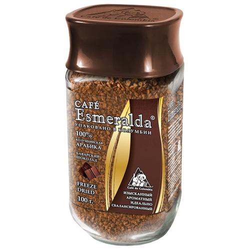 Кофе растворимый Cafe Esmeralda Баварский шоколад, 100 г santa esmeralda santa esmeralda best of santa esmeralda