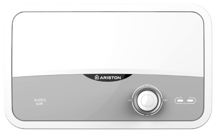 Проточный электрический водонагреватель Ariston Aures S