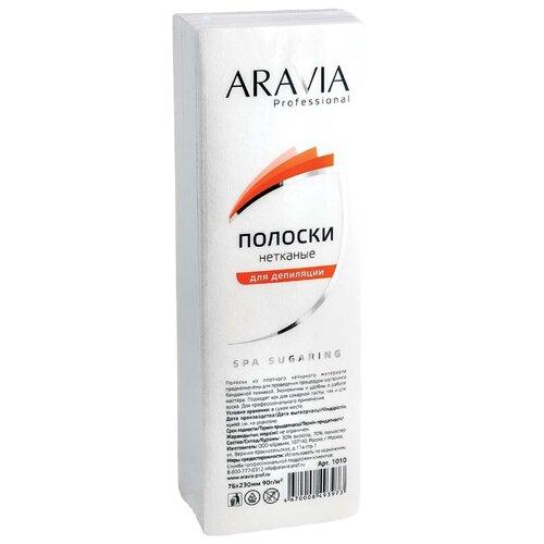 Aravia Полоски нетканые 1010 100 шт. aravia цены