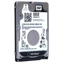 Жесткий диск Western Digital WD Black 500 GB (WD5000LPLX)