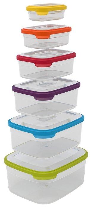 Joseph Joseph Набор контейнеров для хранения продуктов Nest 6 81005/81035
