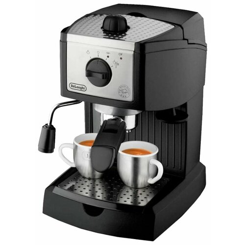 Кофеварка рожковая De'Longhi EC 156 В, черный