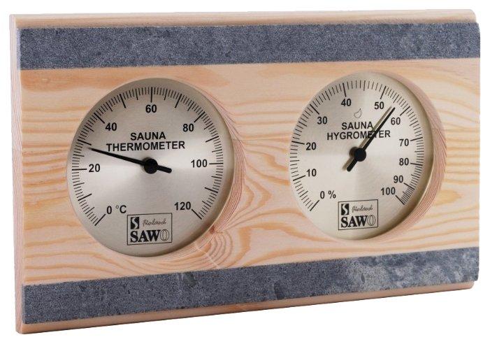 Термогигрометр SAWO 282-THRP (Сосна (P), 250x155 мм)