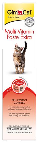 Добавка в корм GimCat Multi-Vitamin Paste Extra