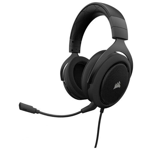 Купить со скидкой Компьютерная гарнитура Corsair HS60 SURROUND Gaming Headset carbon