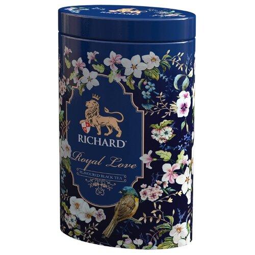 Чай черный Richard Royal love подарочный набор , 80 г чай листовой richard royal ceylon dogs
