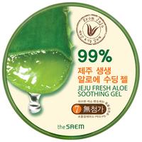 Гель для тела The Saem The Saem Jeju Fresh Aloe Soothing Gel 99%