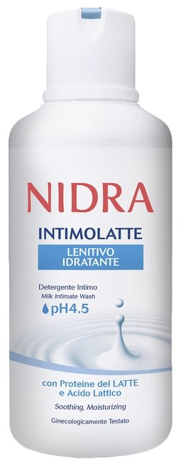 Nidra Гель для интимной гигиены с молочными протеинами и молочными кислотами, 500 мл