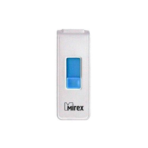Фото - Флешка Mirex SHOT 4 GB, белый флешка mirex swivel 16 gb белый