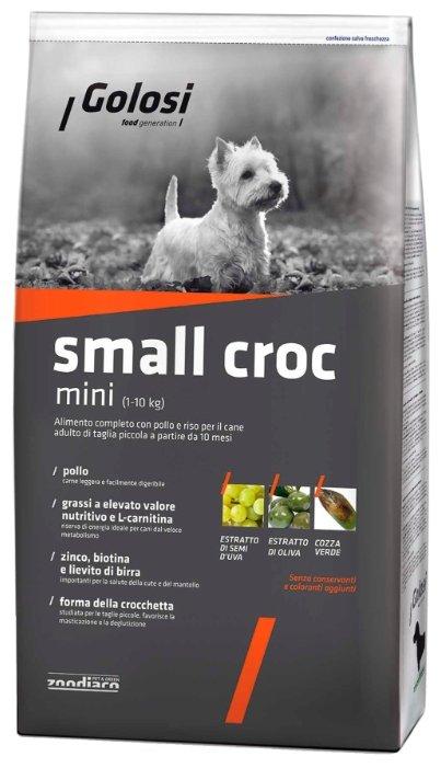 Корм для собак Golosi (2 кг) Small Croc Mini (1-10 kg)
