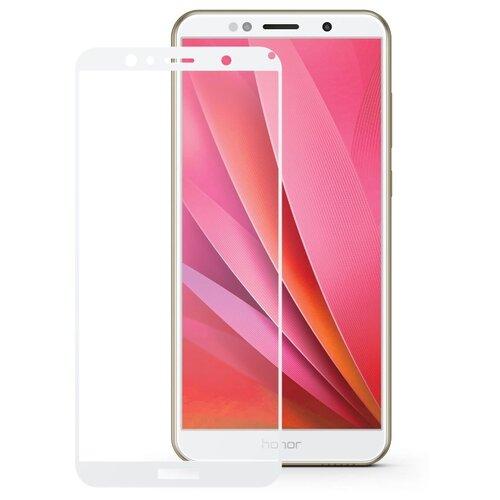 Защитное стекло Mobius 3D Full Cover Premium Tempered Glass для Huawei Honor 7A/Y5 2018 белый