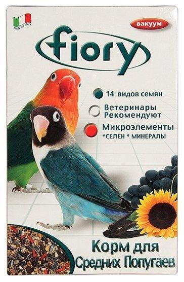 Fiory корм Parrocchetti Africa для средних попугаев 800 г