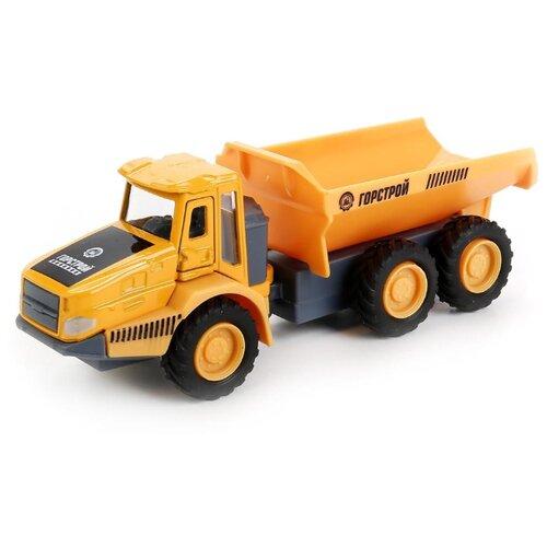 Купить Грузовик ТЕХНОПАРК карьерный (SB-17-55-A-WB) 15 см оранжевый, Машинки и техника