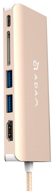 USB-концентратор Adam Elements CASA Hub A01 разъемов: 5
