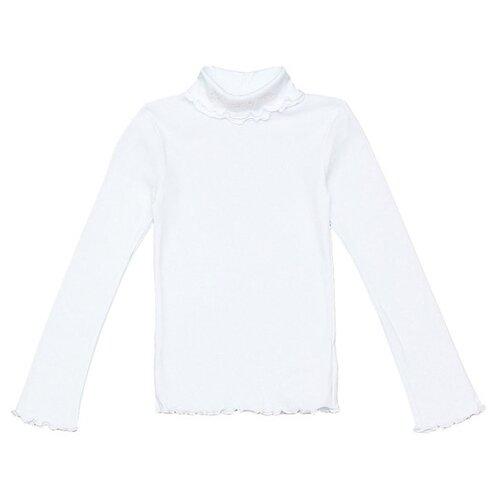 Купить Водолазка Снег размер 128-134, белый, Свитеры и кардиганы