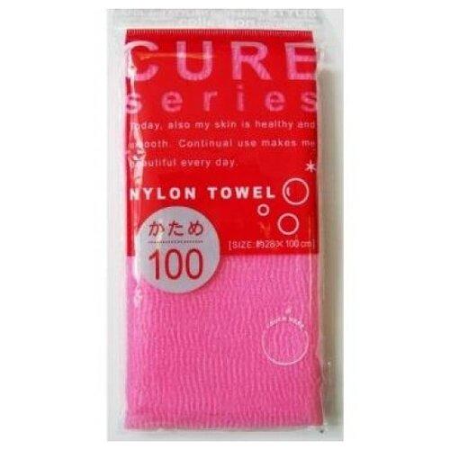 Купить Мочалка OH:E Cure series жесткая (100 см) розовая