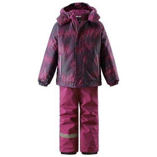 Комплект с брюками Lassie размер 92, 5993 розовый/фиолетовый