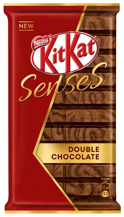 Шоколад <b>KitKat Senses Double Chocolate</b> молочный и темный ...