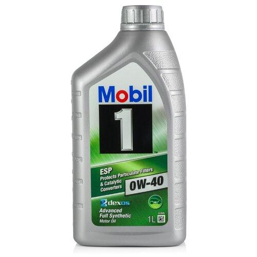 Моторное масло MOBIL 1 ESP 0W-40 1 л