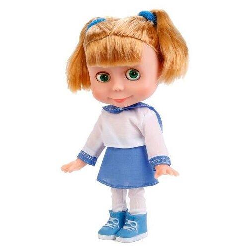 Интерактивная кукла Карапуз Маша и Медведь Маша в матросском костюме, 25 см, 83088 (18)Куклы и пупсы<br>
