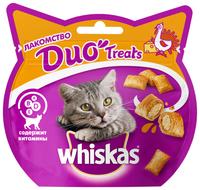 Лакомство для кошек Whiskas Duo Treats c индейкой и сыром 40 г